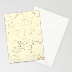 Marbled Cream Stationery Cards