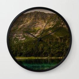 Chimney Pond at Katahdin Mountain Wall Clock