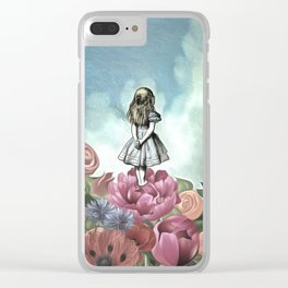 Wondering Alice Clear iPhone Case