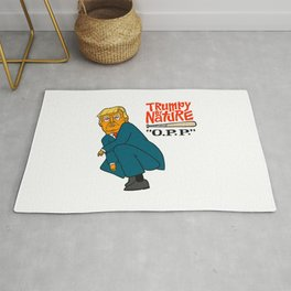Trumpy by Nature Rug