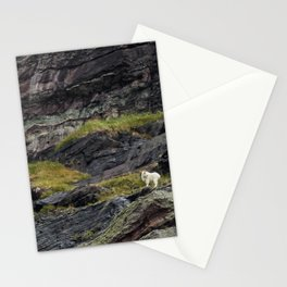 A Rocky Landscape and a Mountain Goat No. 1 Stationery Cards