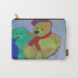 Teddy Bear Gathering Carry-All Pouch