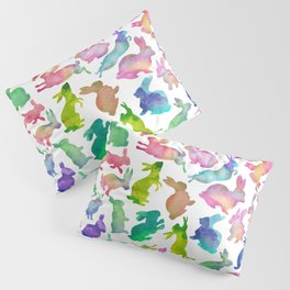 Watercolour Bunnies Pillow Sham