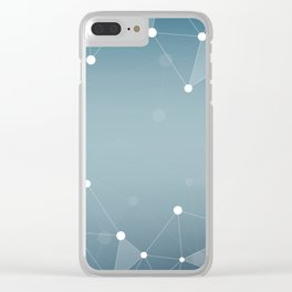 Abstract Background 12 Clear iPhone Case