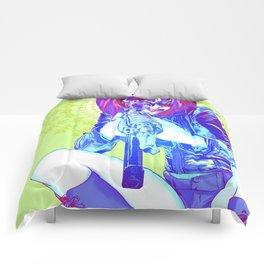 POWER: Harlequinn Hunter Comforters