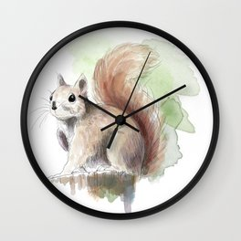 Squirrel! Wall Clock