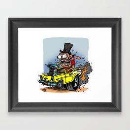 TopHatter Framed Art Print