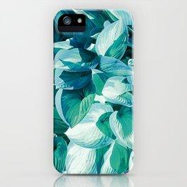 Botanic leafage iPhone Case