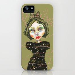 flexible girl iPhone Case