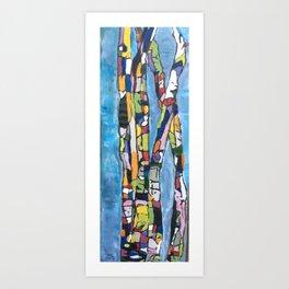 """""""Mosaic Tree, Too"""" Art Print"""