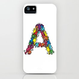 A by Keith iPhone Case