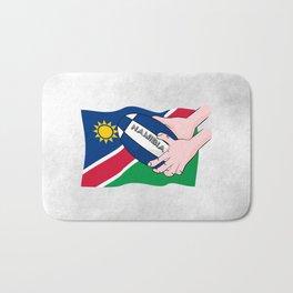 Rugby Namibia Bath Mat