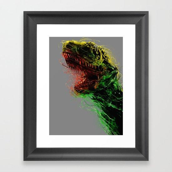 Killing machine Framed Art Print