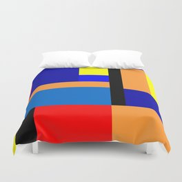 Mondrian #35 Duvet Cover