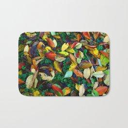 autumn leaves 2 Bath Mat