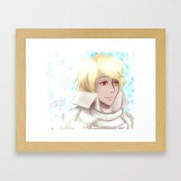 Man of the Beginning Framed Art Print