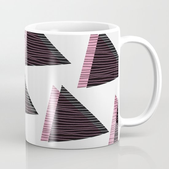 Pink Triangles III Mug