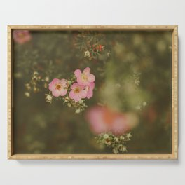 flower photography by Elina Bernpaintner Serving Tray