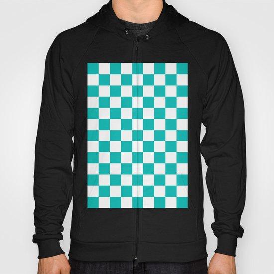 Checker (Tiffany Blue/White) Hoody
