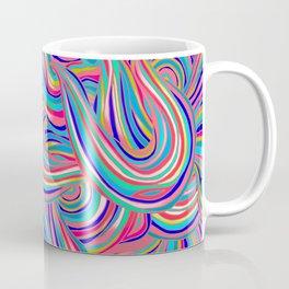 Pink Abstract Coffee Mug