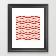 C13D HEARTWAVE Framed Art Print