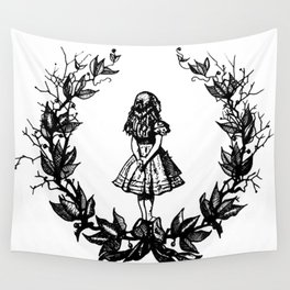 Alice In Wonderland Wall Tapestry