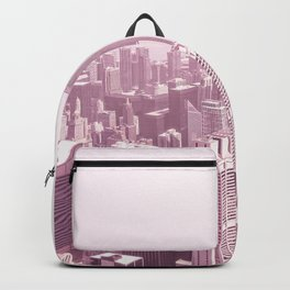 Chicago Pastel Pink Backpack