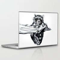 fitzgerald Laptop & iPad Skins featuring Hang In There, Baby by Emma Fitzgerald