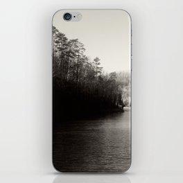 Black & White Lake iPhone Skin