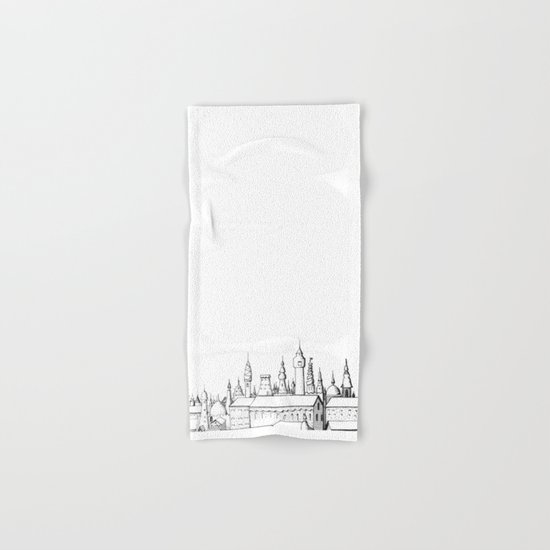 fabulous city Hand & Bath Towel