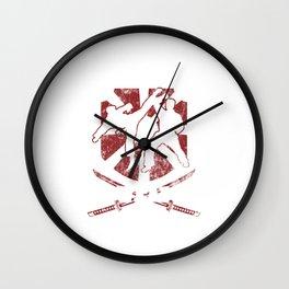 I Don't Need A Weapon Martial Arts Artist Kung Fu Wall Clock