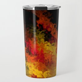fiery marble 015 Travel Mug