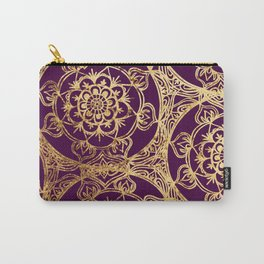 Mandala Luxe Carry-All Pouch