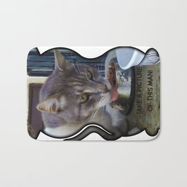 Monster the Kat - Take a Picture of this - Monster Cat Gear 2016 Bath Mat