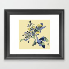 Splash of Fresh Framed Art Print