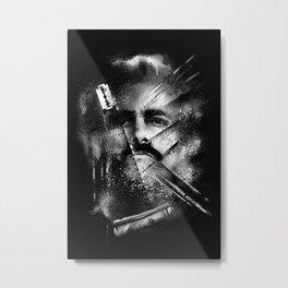 Plata O Plomo Metal Print