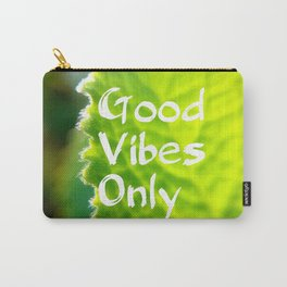 Mexicant Mint - Good Vibes Only Carry-All Pouch