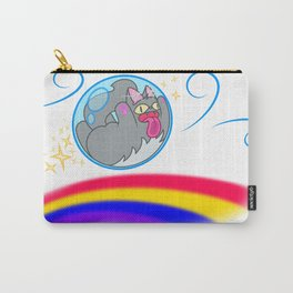 Cat on the Wind Carry-All Pouch