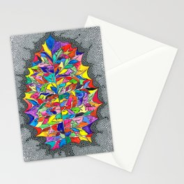 Rainbow Leaf Stationery Cards
