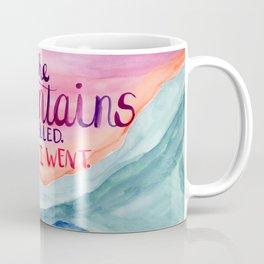 The Mountains Called Coffee Mug