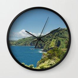 Highway to Heaven Wall Clock