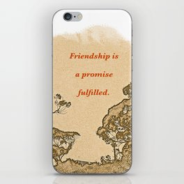 """Trees Of Catalina #2""/Simple Friendship iPhone Skin"