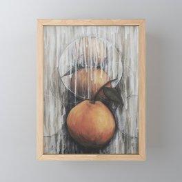 Tangerines Framed Mini Art Print