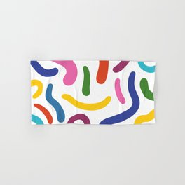 Colorful mess Hand & Bath Towel