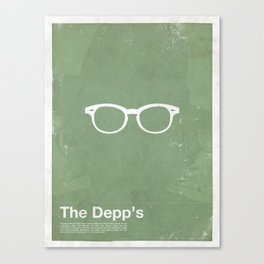 Framework - The Depp's Canvas Print