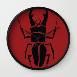 Kubo and the Two Strings - The Beetle Clan Wall Clock