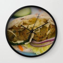 Good Enough To Eat Wall Clock