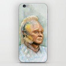 Neelix Star Trek Watercolor Portrait iPhone & iPod Skin