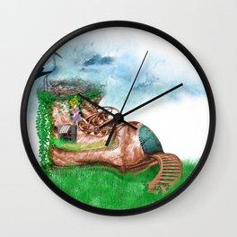 Shoe House Wall Clock