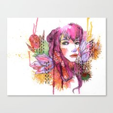 Blushing in Spring Canvas Print